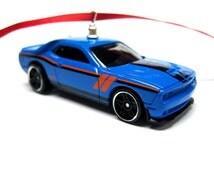 2015 2016 Mopar Dodge Hellcat Challenger SRT Muscle Car Christmas Tree Ornament