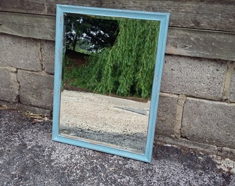 Vintage Painted Shabby Chic Mirror