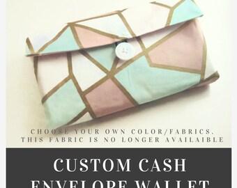 Cash Envelope Wallet System| Cash Budget Wallet | **CUSTOM**