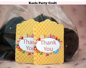 Candyland thank you tags. Candyland decoration. Candyland birthday. Candyland party. Candyland party decorations. Candyland birthday party