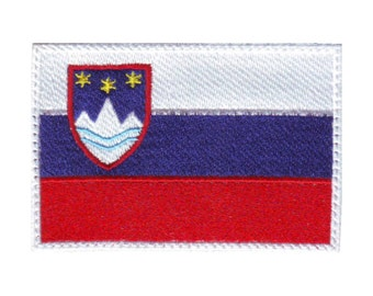 Slovenia Flag Embroidered Patch