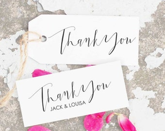 Thank You Stamp, Calligraphy Stamp, Wedding Thank You, Calligraphy Thank You, Wedding Stamp, Custom Thank You CS-10260