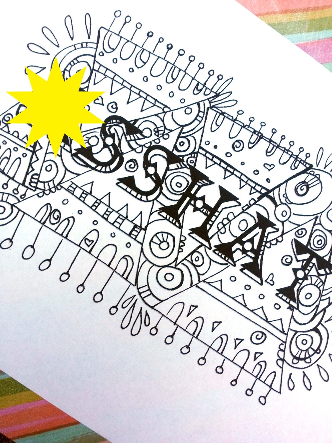 Swear Word Coloring Book Pages Ahat Curse