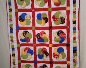 Circle Quilt Blanket