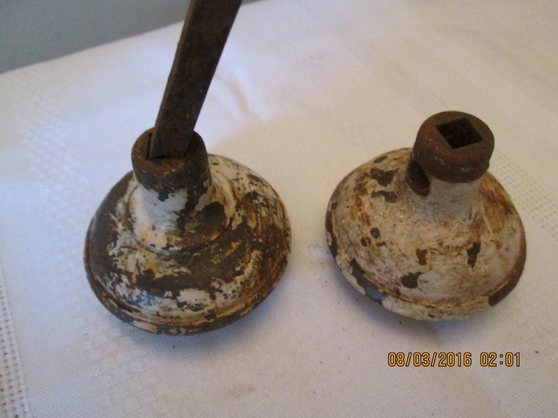 Vintage Steel Door Knobs Restoration Hardware Craft Supplies