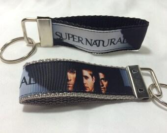 Supernatural strap keychain black