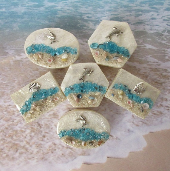 Beach Wedding Favor Box 6pcs Capiz Gift Box Mother Of Pearl