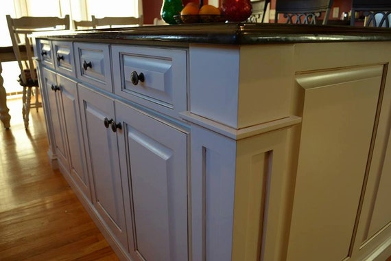 maple kitchen island by speckcustomwoodwork on etsy