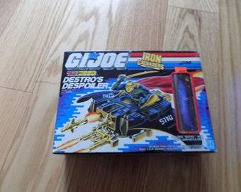 GI JOE Destro's Despoiler Iron Grenadiers The Enemy Sealed Hasbro 1987 Battle Force G.I. Joe Action Figure