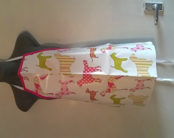 childs oilcloth apron
