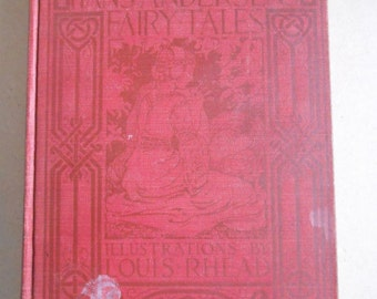 Hans Andersen's Fairy Tales Hardcover Book Illustrated By Louis Reed