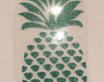 Fusible pattern pineapple tropic