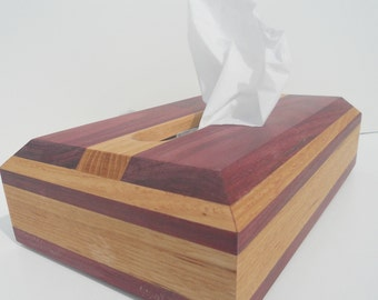 Tissue Box Cover Hand Made Wooden Box For Tissue's