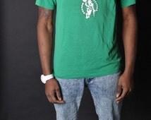 ON SALE Ending 2/12 80s Boston Celtics NBA Shirt  - Basketball Tshirts - Celtics Basketball - Boston Celtics  - 1083