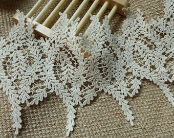 Vintage Cotton Lace Beige Wheat Lace Trim By The yard