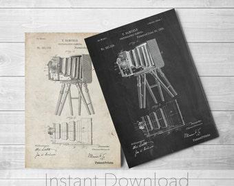 Photographic Camera 1885 Printables, Antique Camera, Photographer Gift, Photography Wall Art, Camera Poster, PP0033