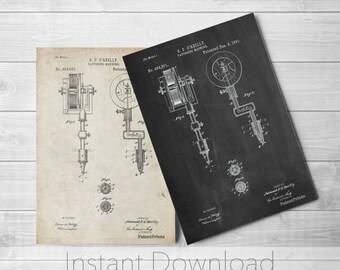 Tattoo Machine Printables, Tattoo Wall Art, Vintage Tattoo, Unique Gifts, Tattoo Parlor Prints, PP0814