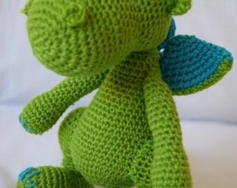 Crochet Dragon, Dragon, Crochet Toy, Present, Gift, Crochet Toy, Baby Toy, Boy, Girl, Fantasty Animal
