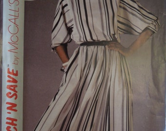 Stitch n Save 9108, sizes 6-10, misses, womens, teens, top and skirt, UNCUT sewing pattern, craft supplies