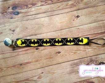 Soothie Pacifier Holder- Batman