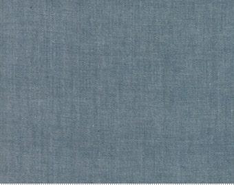 Moda Chambray Grey, 1/2 yard, 12051 12