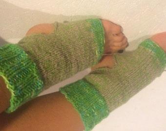 green Yoga Socks Hand Knit Pilates Socks green multicolor  Socks Dance Socks Slipper Socks Women  Socks  Colorful Hipster Yoga active wear