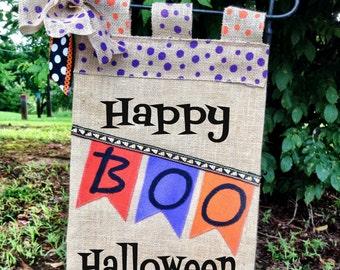 Halloween Burlap Garden Flag*Witch Garden Flag*Halloween Door Hanger* Burlap Garden Flag*Pumpkin Garden Flag*The Witch Is In Flag*Fall Sign