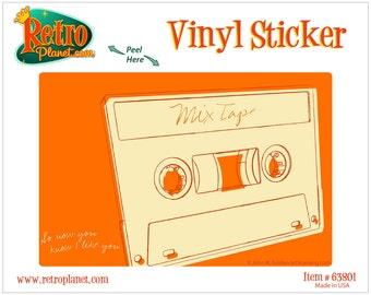 Lunastrella Mix Tape Music Vinyl Sticker - #63801