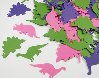 """Dinosaur Party Decoration, Dinosaur Confetti, Cutouts, Birthday Party, 1.5"""" & 1.75"""", Party Decoration, 100 Ct., Ships in 2-3 Business Days"""