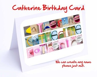Catherine Personalised Birthday Card
