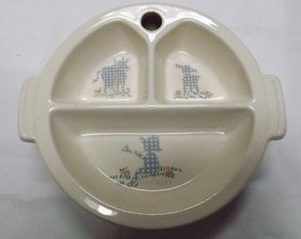 Vintage Blue Boy baby food warmer