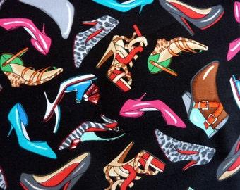Head over heels black, Bemartex, fabric,