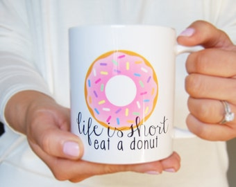 Donut Judge Me Mug