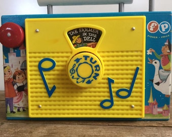 TV Radio by Fisher Price Farmer In the Dell