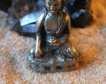 Mini Brass Buddha