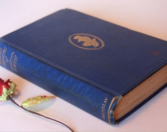 The Golden Treasury Of Scotish Poems 1940s selected Scotland Vintage Poetry
