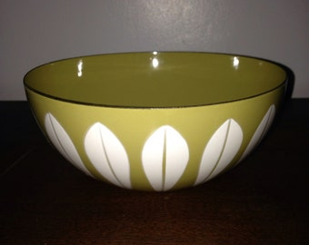 vintage catherineholm lotus bowl