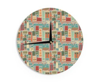 "Wall Clock - Allison Beilke ""My Fair Milwaukee"" Makes A Great Gift!"