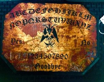 Spirit Board ~ Baphomet Pendulum Board ~ Left Hand Path