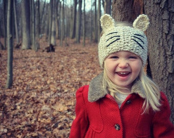 Kitty Cat Headwrap (Toddler, Child, Adult)