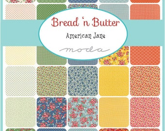 Bread n Butter by American Jane by Moda - 21690PP - Precut quilting and sewing fabric, free postage in Australia