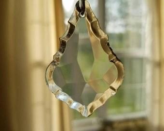 Replacement chandelier drop, Chandelier parts, crystal like chandelier parts, Chandelier replacement parts, Chandelier, crystal parts, clear