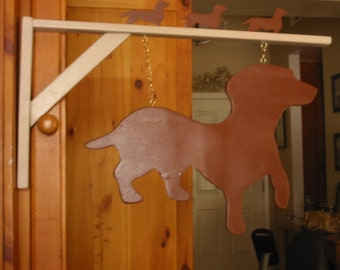 Dachshund Hanging Sign