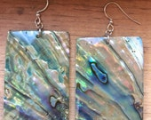 Native Abalone Shell earrings.