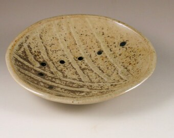 Brown and Gold Wood Fired Dish, Appetizer Dish, Appetizer Plate, Unique Gift, Birthday Gift
