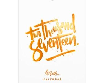 2017 Positivity Wall Calendar - 40% OFF!