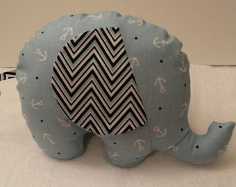 Blue Anchor Elephant Baby Toy