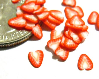 FLASH SALE Strawberry Fruit Slices 40pcs