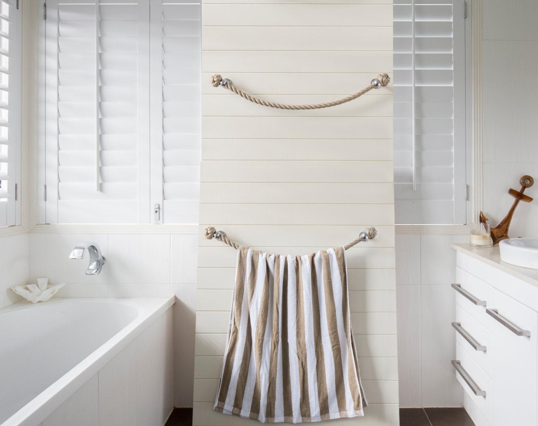 Coastal Towel Racks For Bathroom: NAUTICAL TOWEL RACK Handmade Nautical Decor With A Sandy