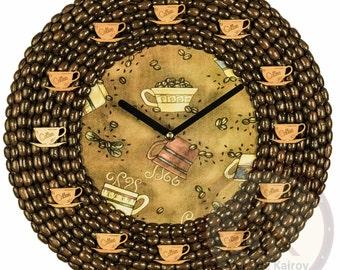 Coffee Wall Clocks # 76